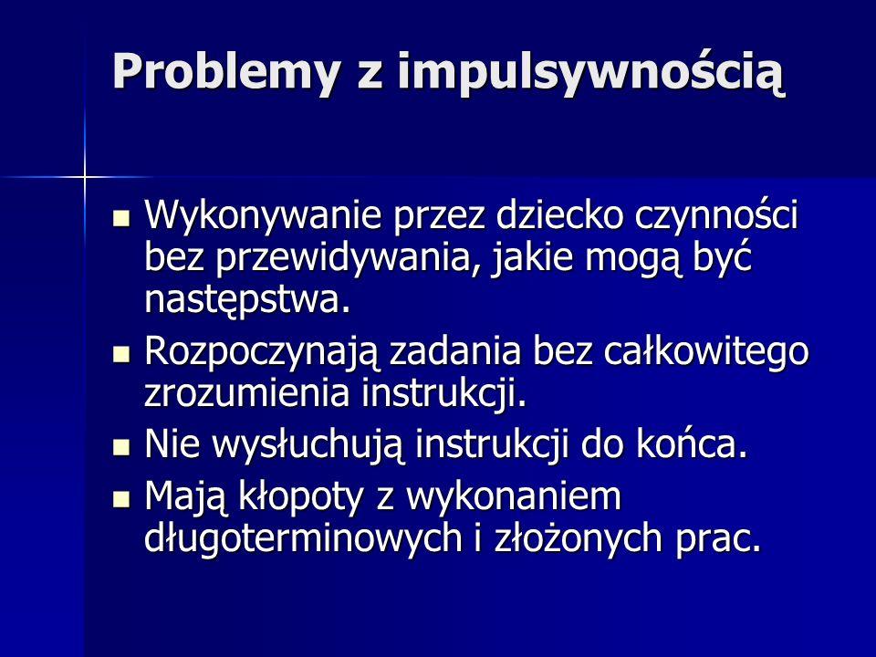 Problemy z impulsywnością