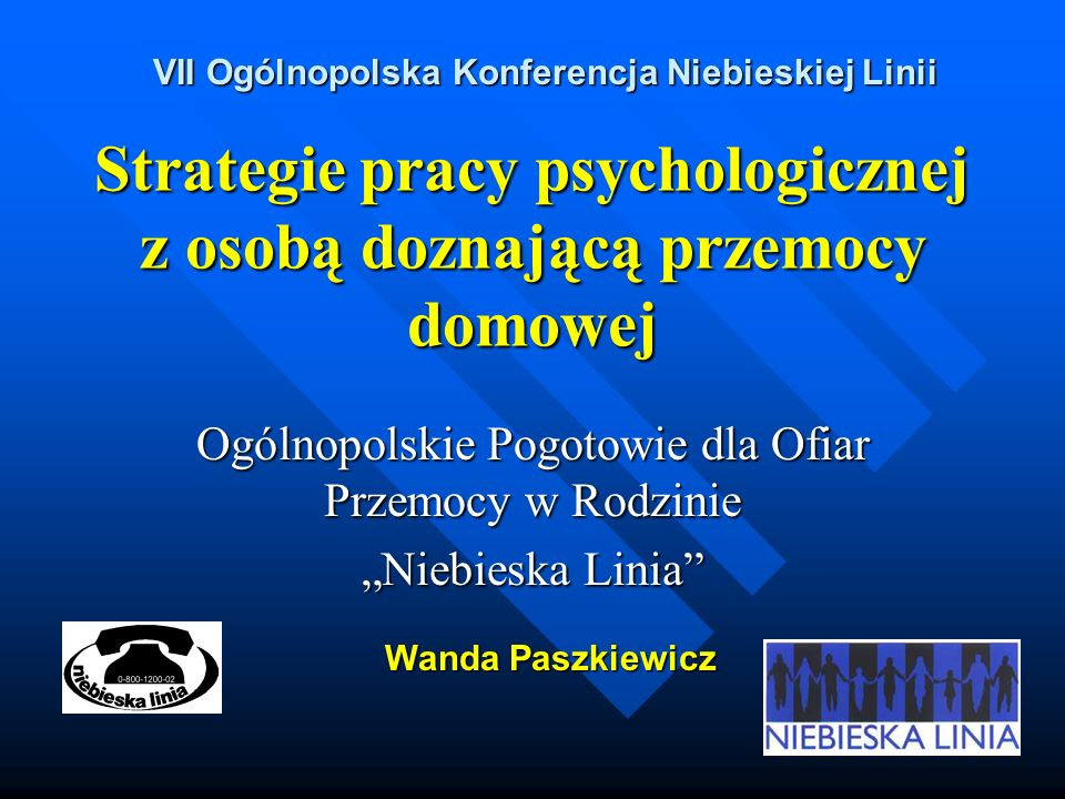 Strategie pracy psychologicznej z osobą doznającą przemocy domowej