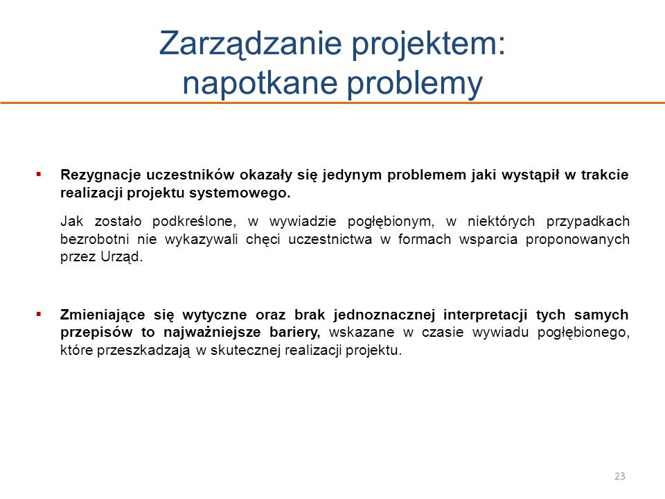 Zarządzanie projektem: napotkane problemy