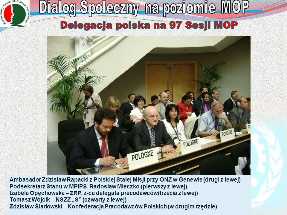 Delegacja polska na 97 Sesji MOP