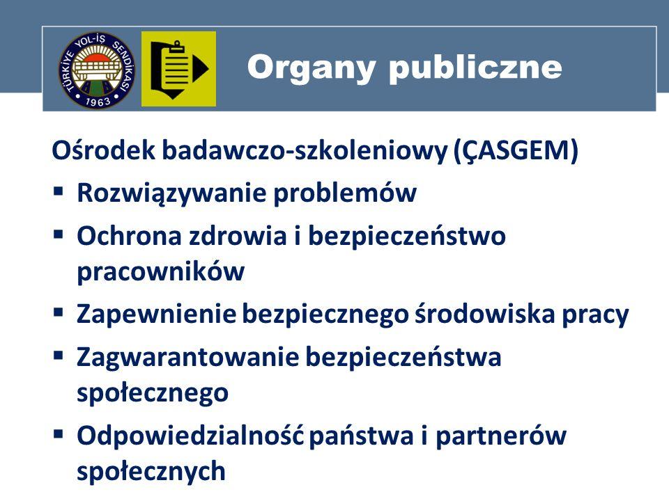 Organy publiczne Ośrodek badawczo-szkoleniowy (ÇASGEM)