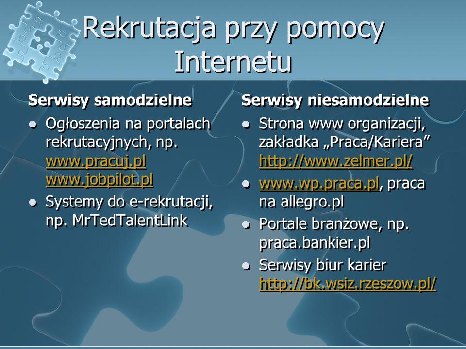 Rekrutacja przy pomocy Internetu