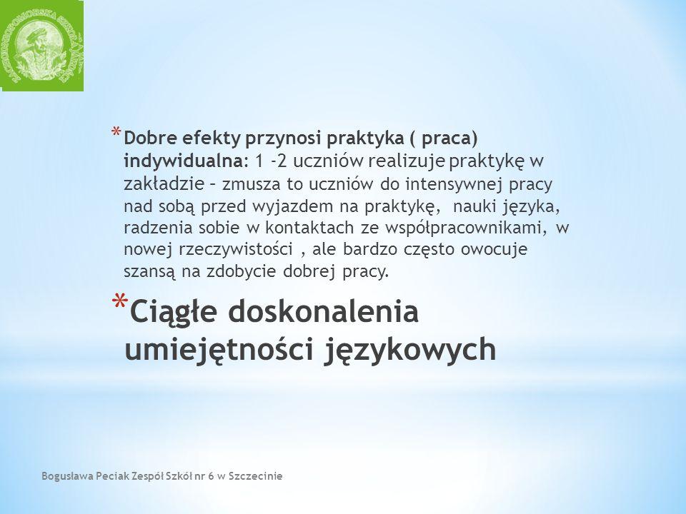 Ciągłe doskonalenia umiejętności językowych