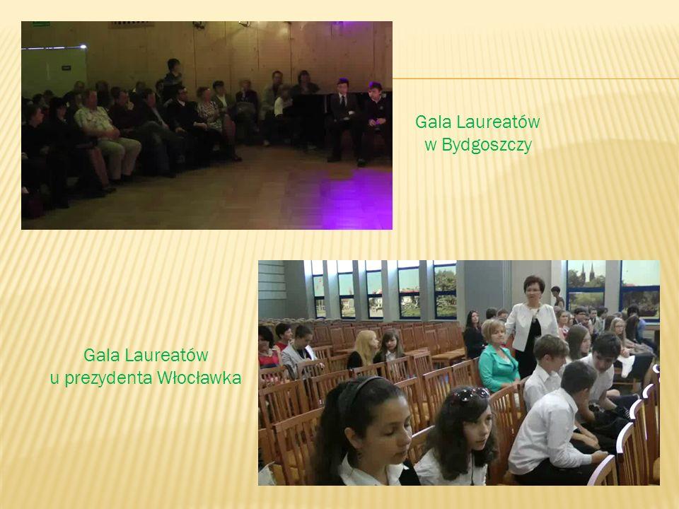 Gala Laureatów w Bydgoszczy Gala Laureatów u prezydenta Włocławka