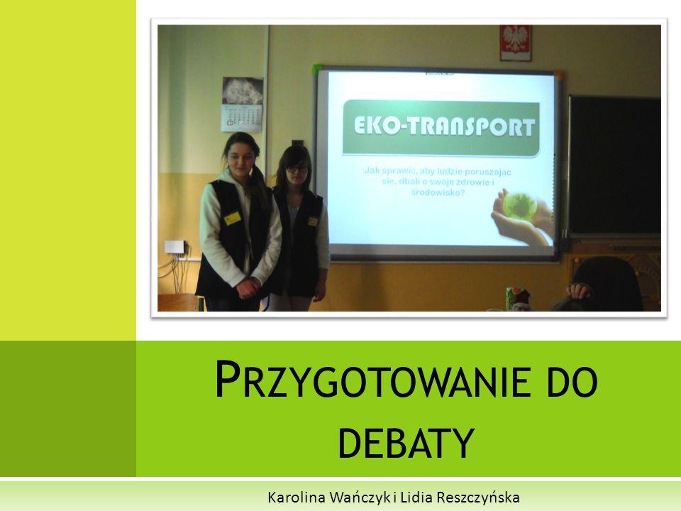 Przygotowanie do debaty