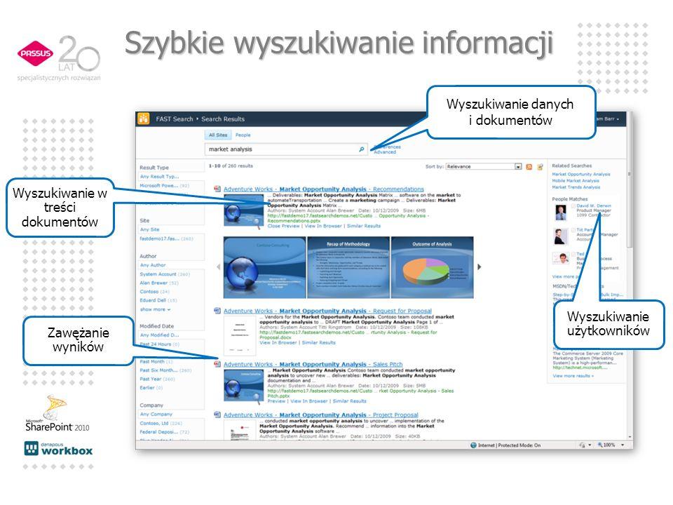 Szybkie wyszukiwanie informacji
