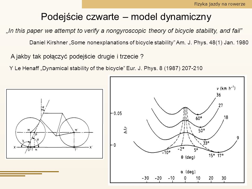 Podejście czwarte – model dynamiczny