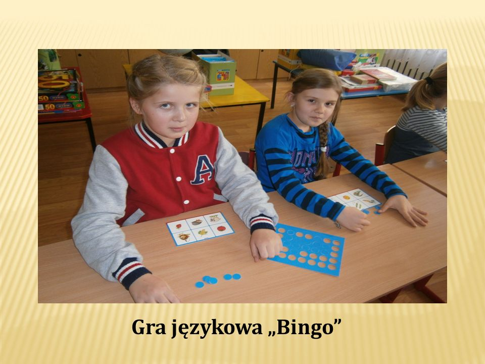 """Gra językowa """"Bingo"""