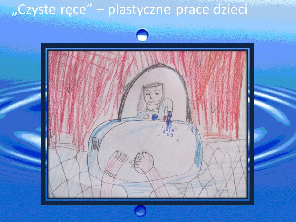 """""""Czyste ręce – plastyczne prace dzieci"""