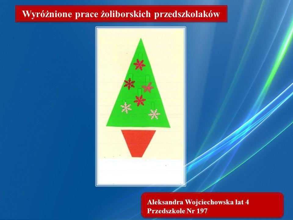 Wyróżnione prace żoliborskich przedszkolaków