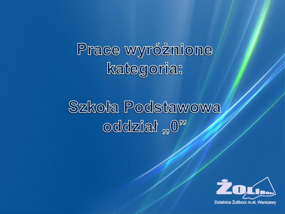 """Szkoła Podstawowa oddział """"0"""