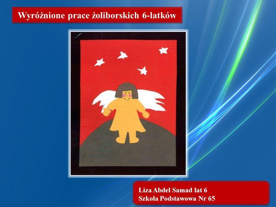 Wyróżnione prace żoliborskich 6-latków