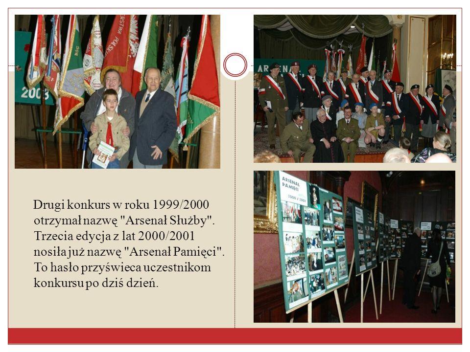 Drugi konkurs w roku 1999/2000 otrzymał nazwę Arsenał Służby