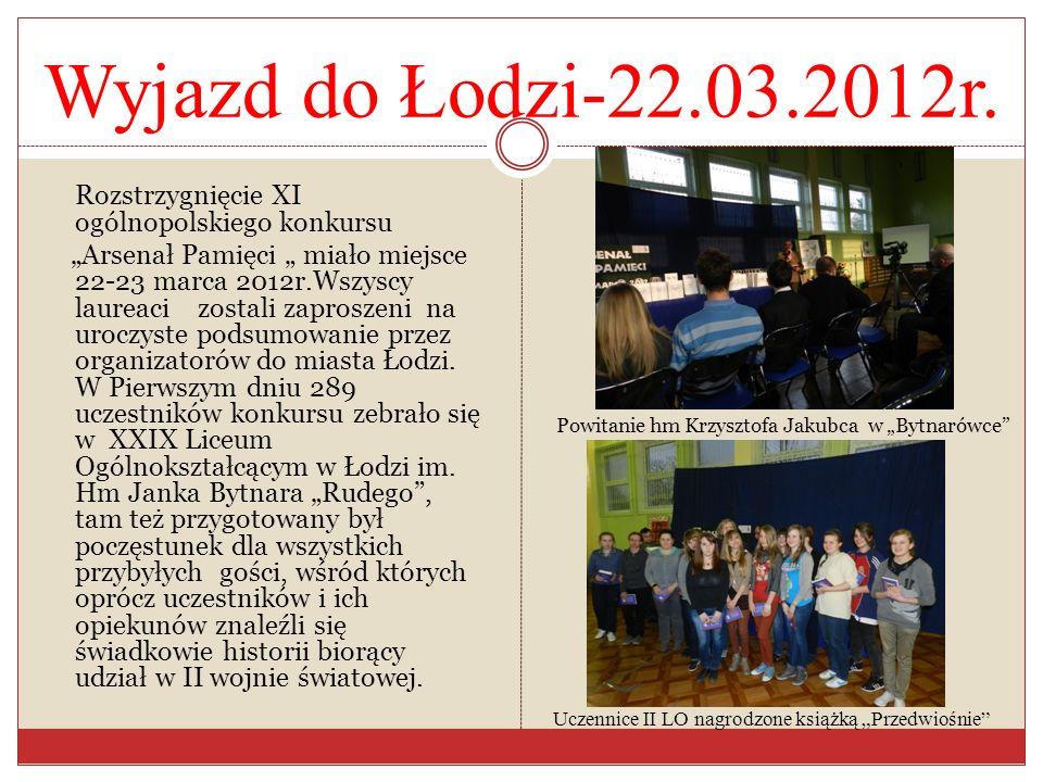 Wyjazd do Łodzi-22.03.2012r.