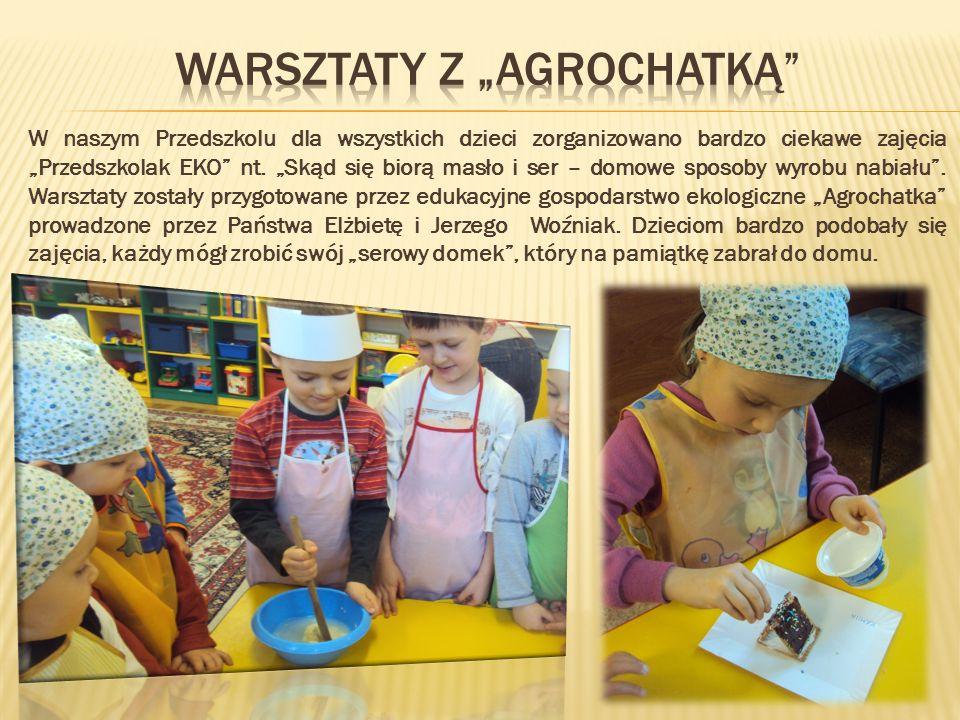 """Warsztaty z """"Agrochatką"""