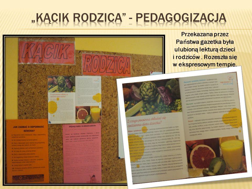 """""""kącik rodzica - pedagogizacja"""