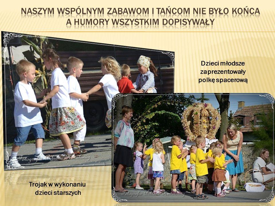 Dzieci młodsze zaprezentowały