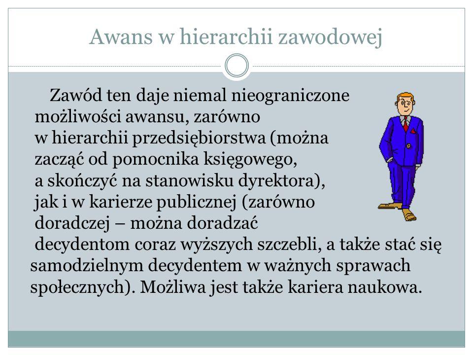Awans w hierarchii zawodowej