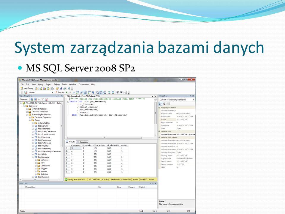 System zarządzania bazami danych