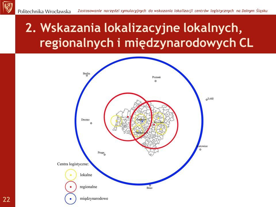 Zastosowanie narzędzi symulacyjnych do wskazania lokalizacji centrów logistycznych na Dolnym Śląsku