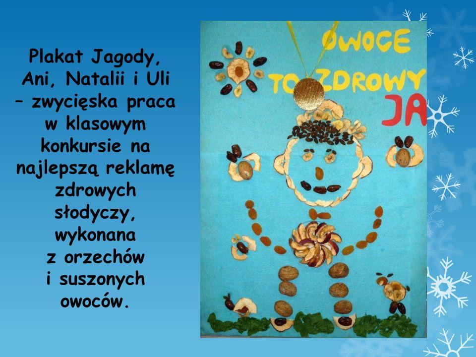 Plakat Jagody, Ani, Natalii i Uli – zwycięska praca