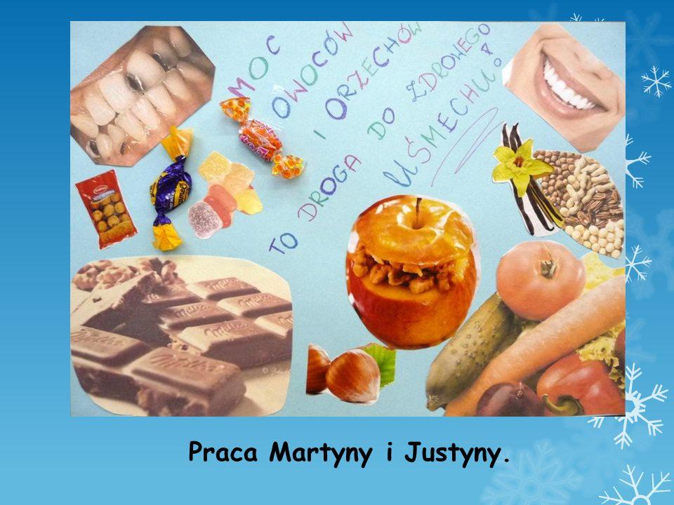 Praca Martyny i Justyny.