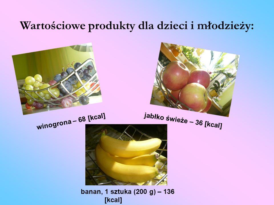 Wartościowe produkty dla dzieci i młodzieży: