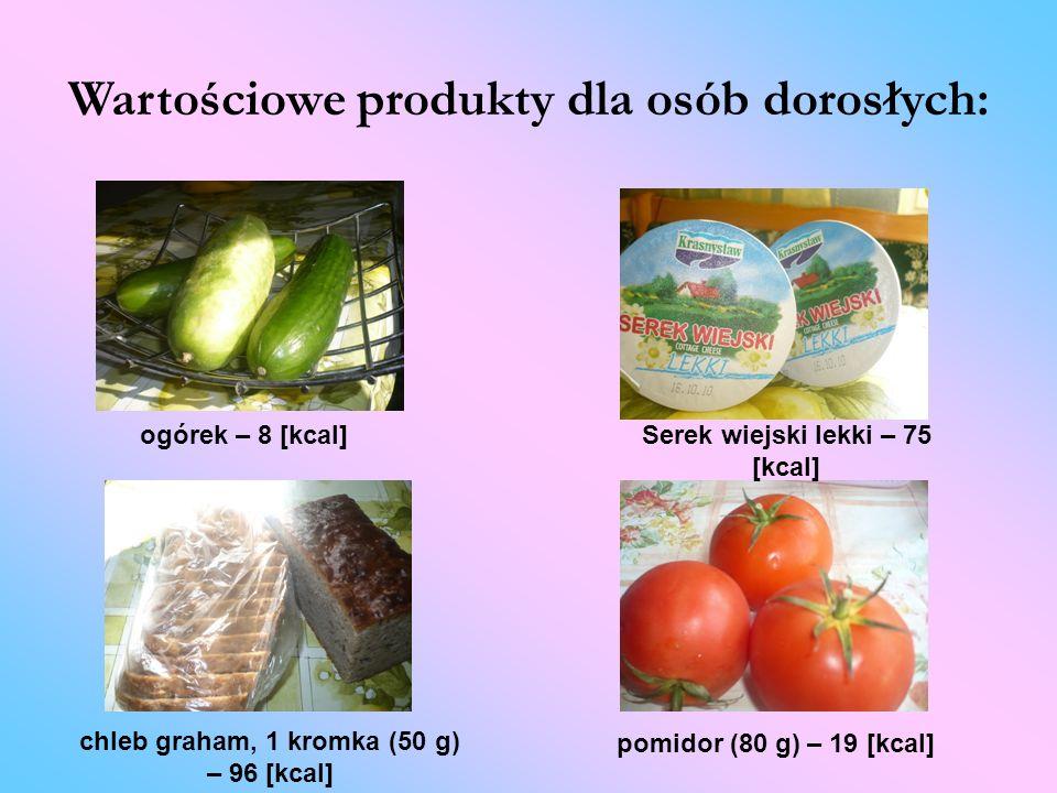 Wartościowe produkty dla osób dorosłych: