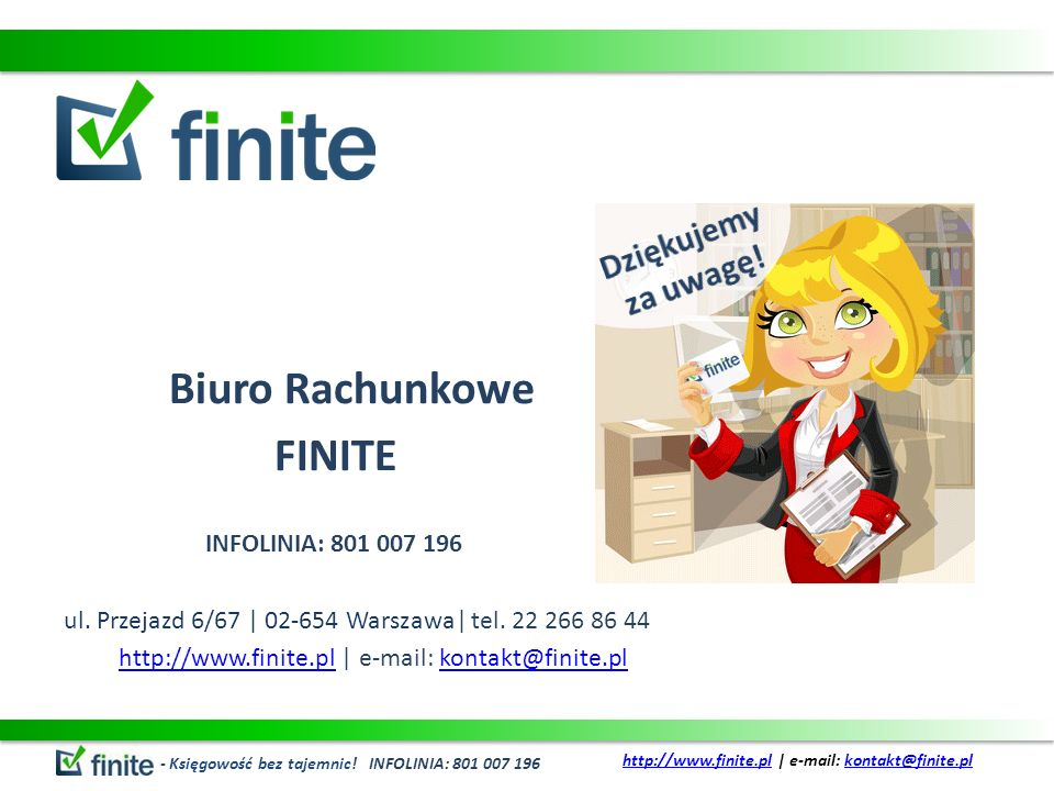 http://www.finite.pl | e-mail: kontakt@finite.pl