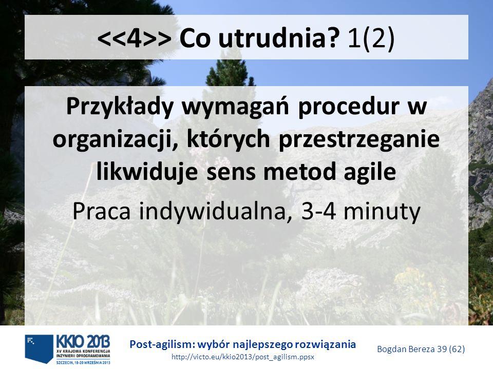 <<4>> Co utrudnia 1(2)