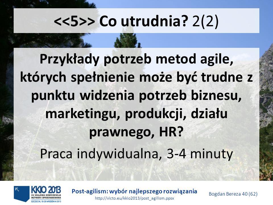 <<5>> Co utrudnia 2(2)