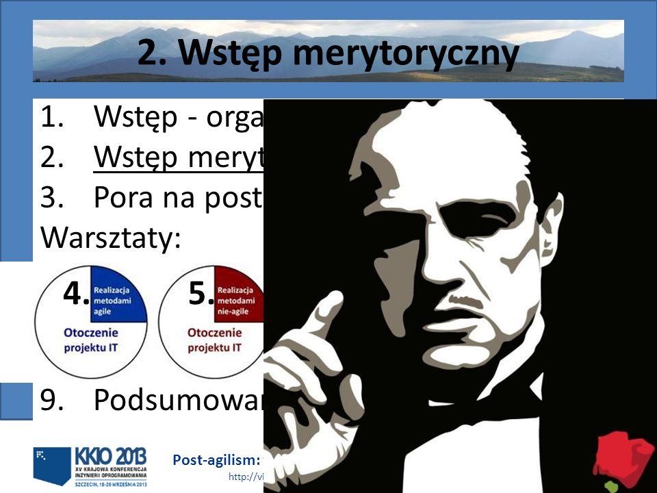 2. Wstęp merytoryczny 4. 5. Wstęp - organizacja Wstęp merytoryczny
