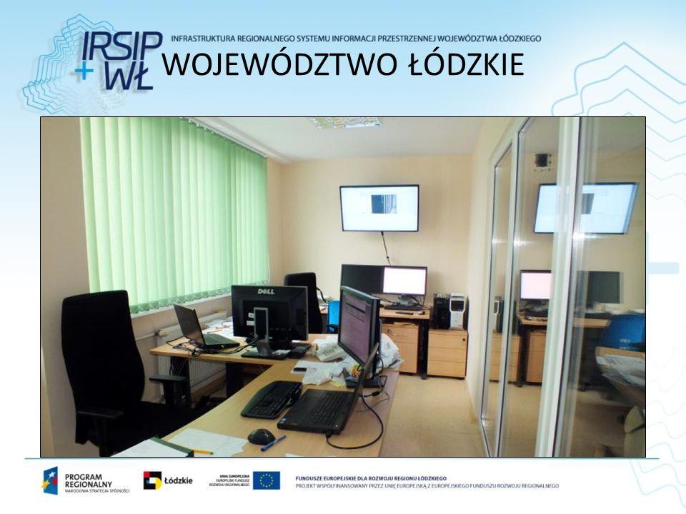 WOJEWÓDZTWO ŁÓDZKIE Siedziba Departamentu Solna 14 Serwerownia, meble, sprzęt.