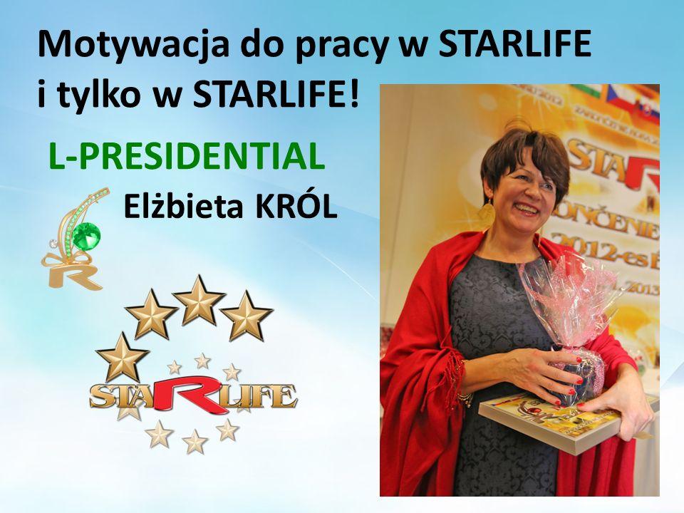 Motywacja do pracy w STARLIFE i tylko w STARLIFE!