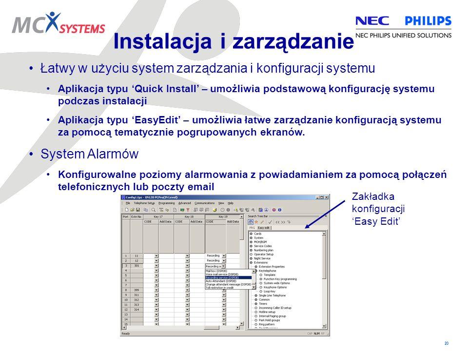 Instalacja i zarządzanie