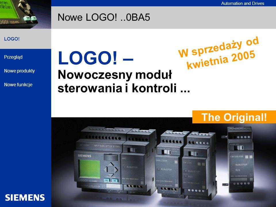 LOGO! – Nowoczesny moduł sterowania i kontroli ...