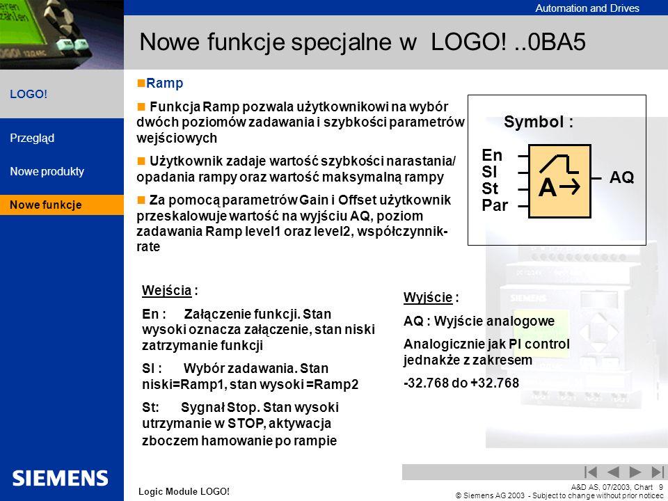 Nowe funkcje specjalne w LOGO! ..0BA5