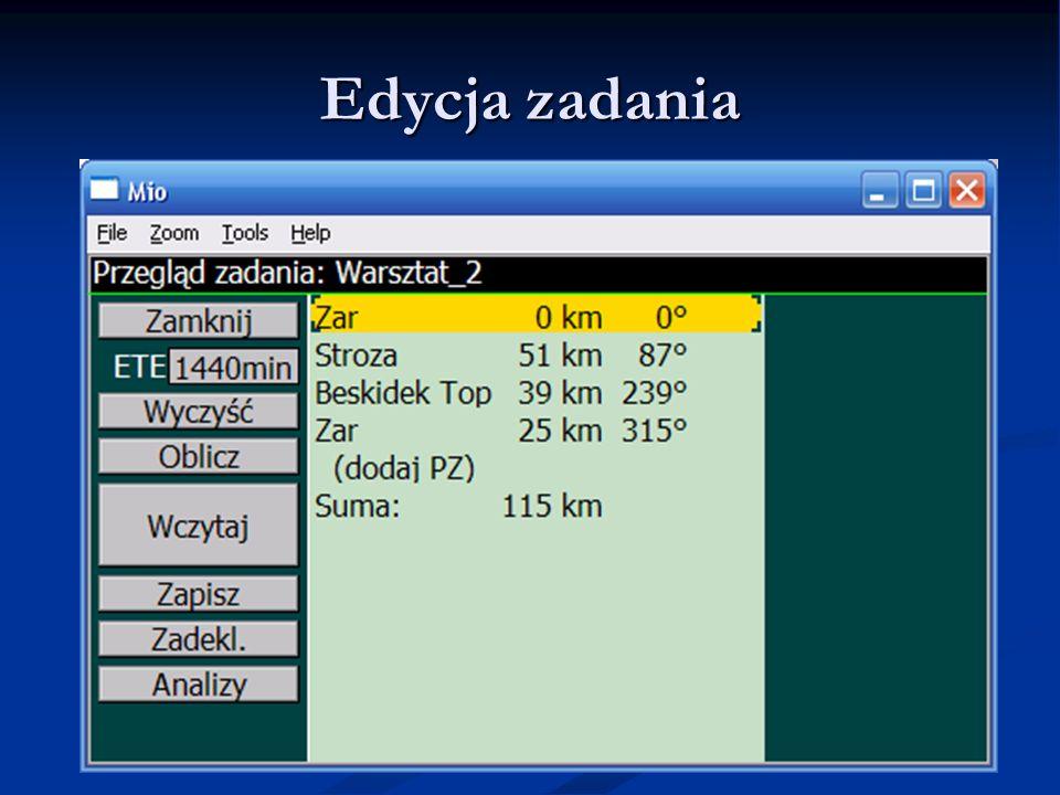 Edycja zadania LK8000 - Warsztaty LK8000 - Warsztaty 9.06.11 9.06.11