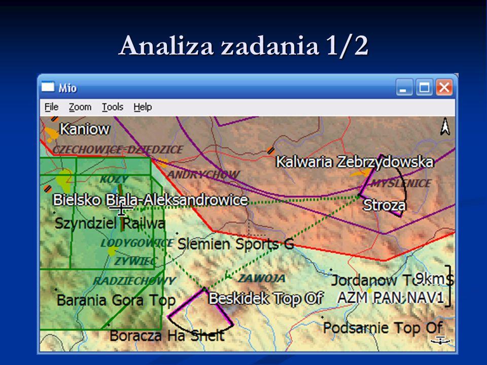 Analiza zadania 1/2 LK8000 - Warsztaty LK8000 - Warsztaty 9.06.11