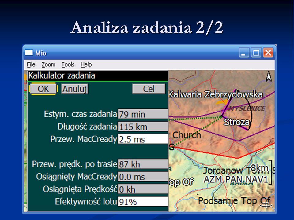 Analiza zadania 2/2 LK8000 - Warsztaty LK8000 - Warsztaty 9.06.11