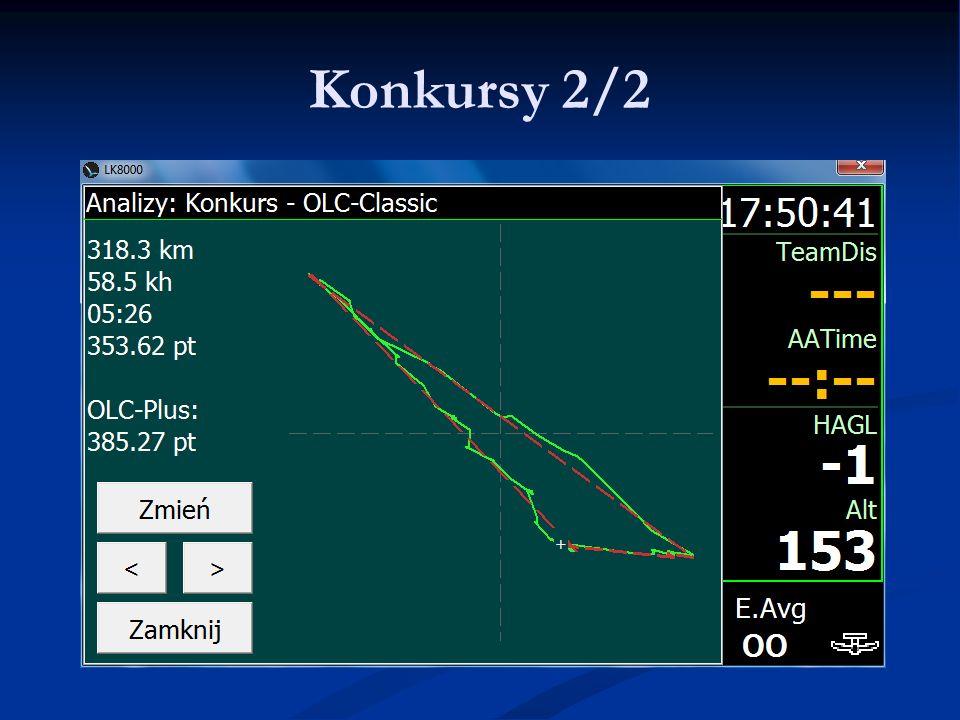 Konkursy 2/2 LK8000 - Warsztaty 9.06.11 Lista najważniejszych PZ'tów.