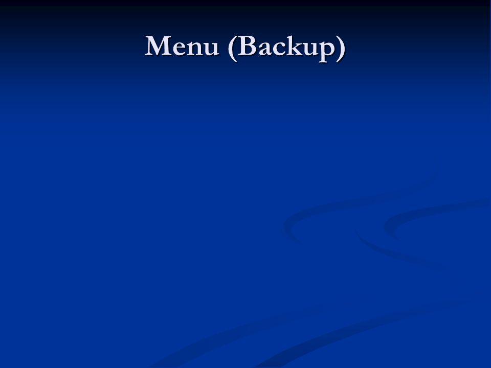 Menu (Backup) LK8000 - Warsztaty LK8000 - Warsztaty 9.06.11 9.06.11