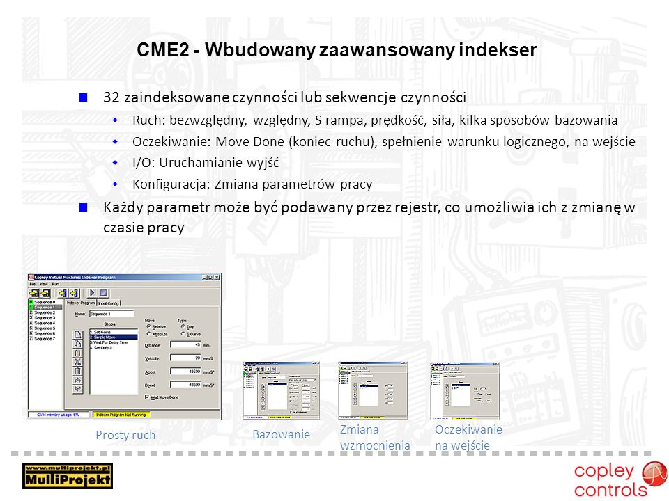 CME2 - Wbudowany zaawansowany indekser