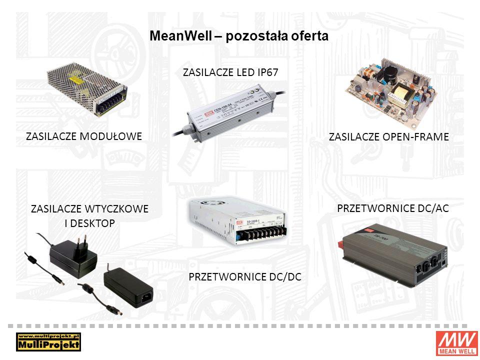 MeanWell – pozostała oferta