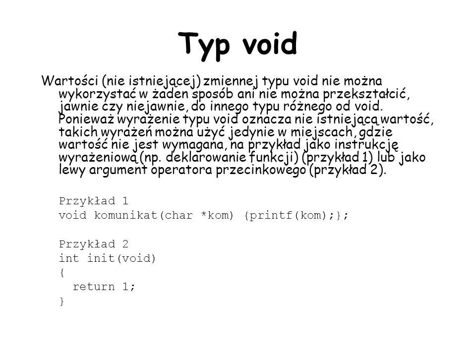 Typ void