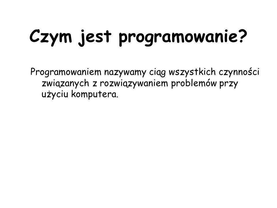 Czym jest programowanie