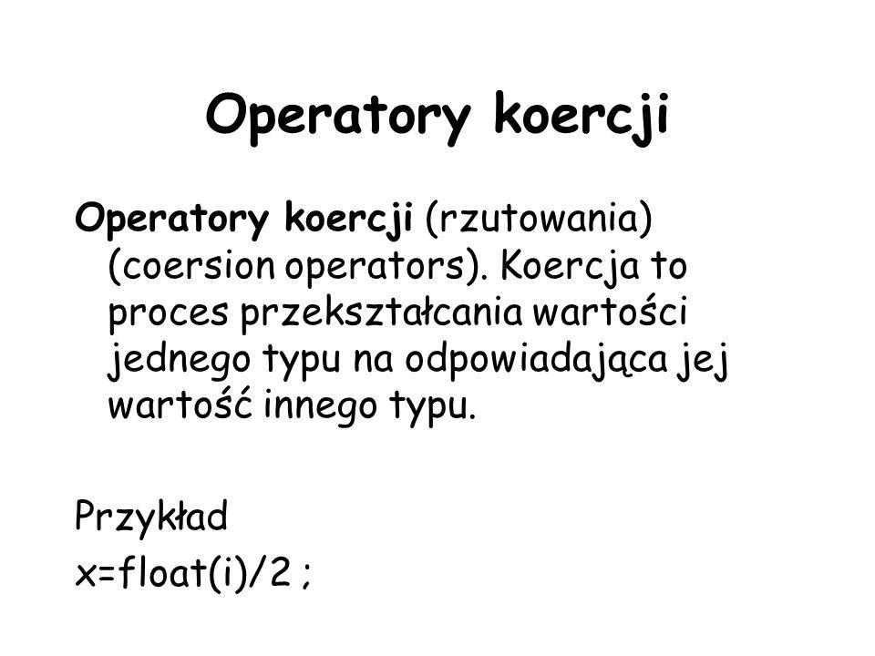 Operatory koercji