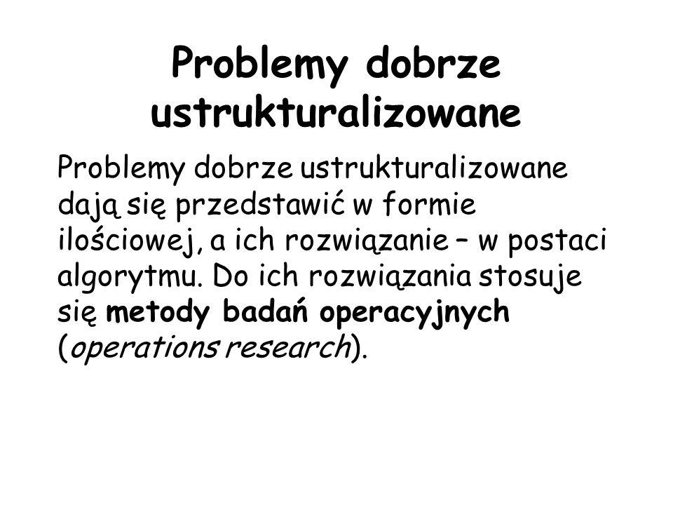 Problemy dobrze ustrukturalizowane