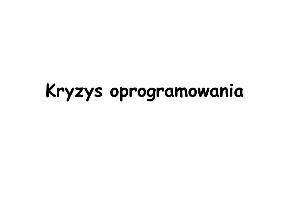 Kryzys oprogramowania