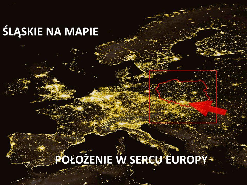 POŁOŻENIE W SERCU EUROPY